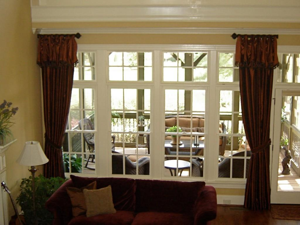 Top Window Curtain Ideas Large Windows Best Design