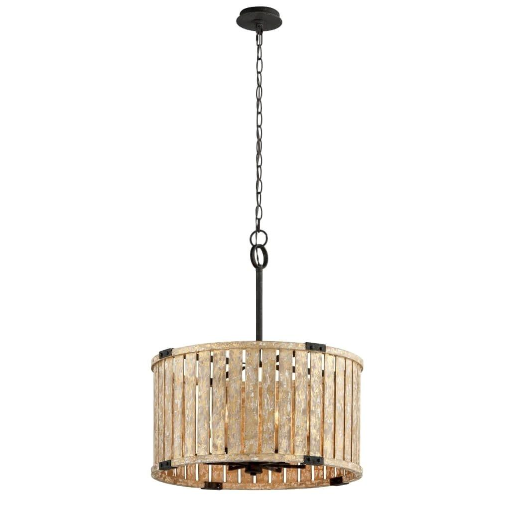 Top Wood Drum Pendant Light Ideas Home Lighting