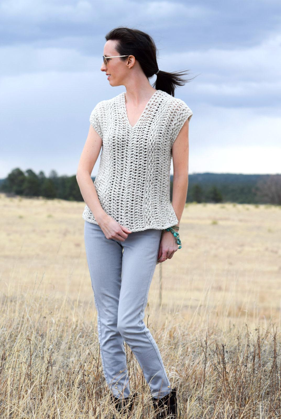 Topcho Easy Crochet Shirt Pattern Mama Stitch