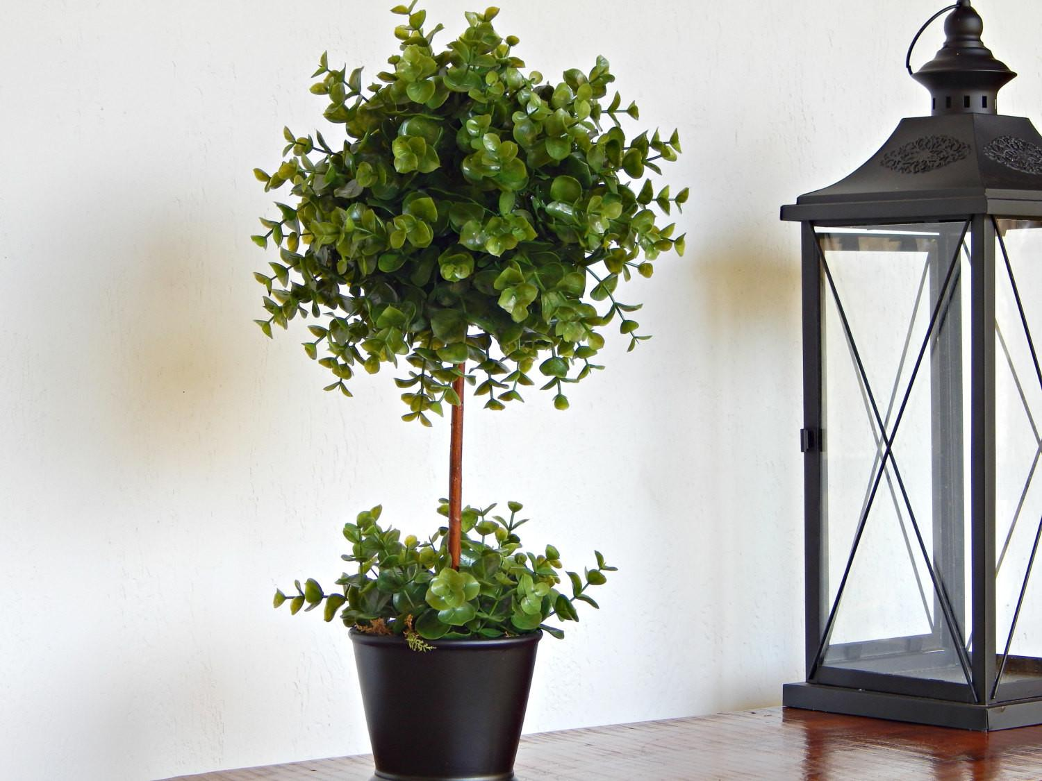 Topiary Tree Topiaries Artificial Plant Faux