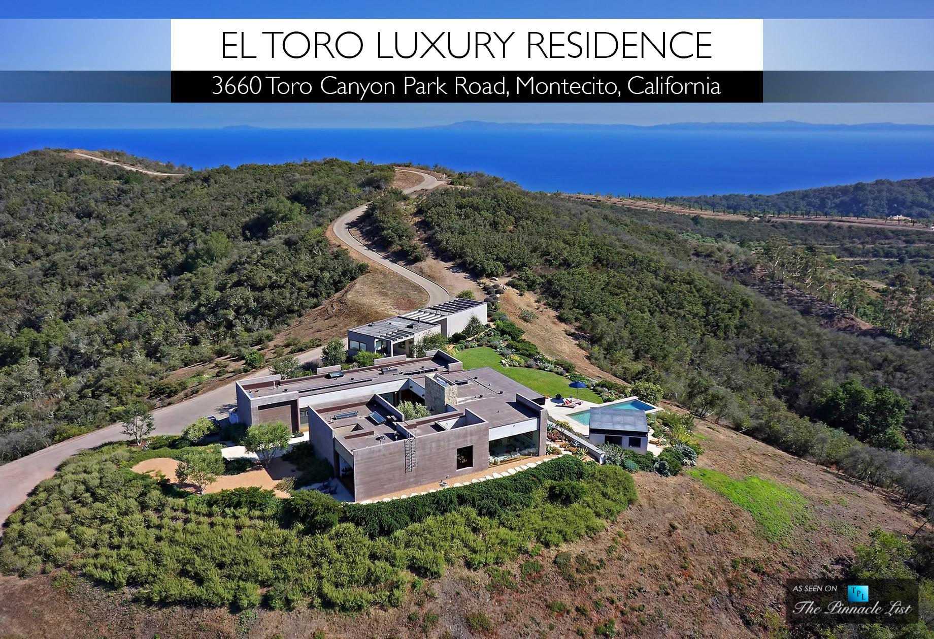 Toro Luxury Residence 3660 Canyon Park Road