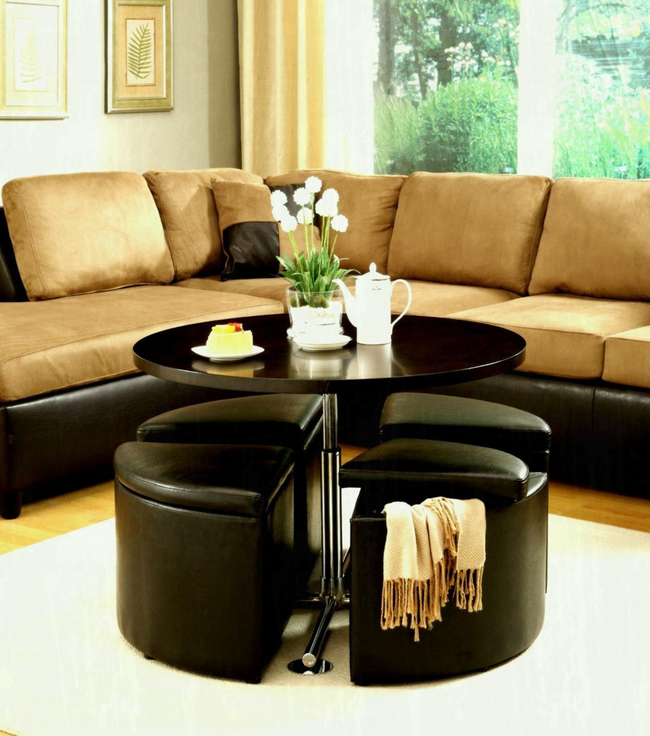 Total Fab Coffee Table Storage Ottomans Underneath