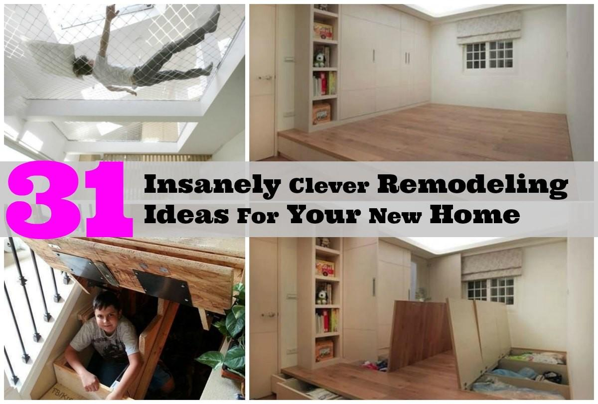 Totally Creative Remodeling Ideas Brand New Home