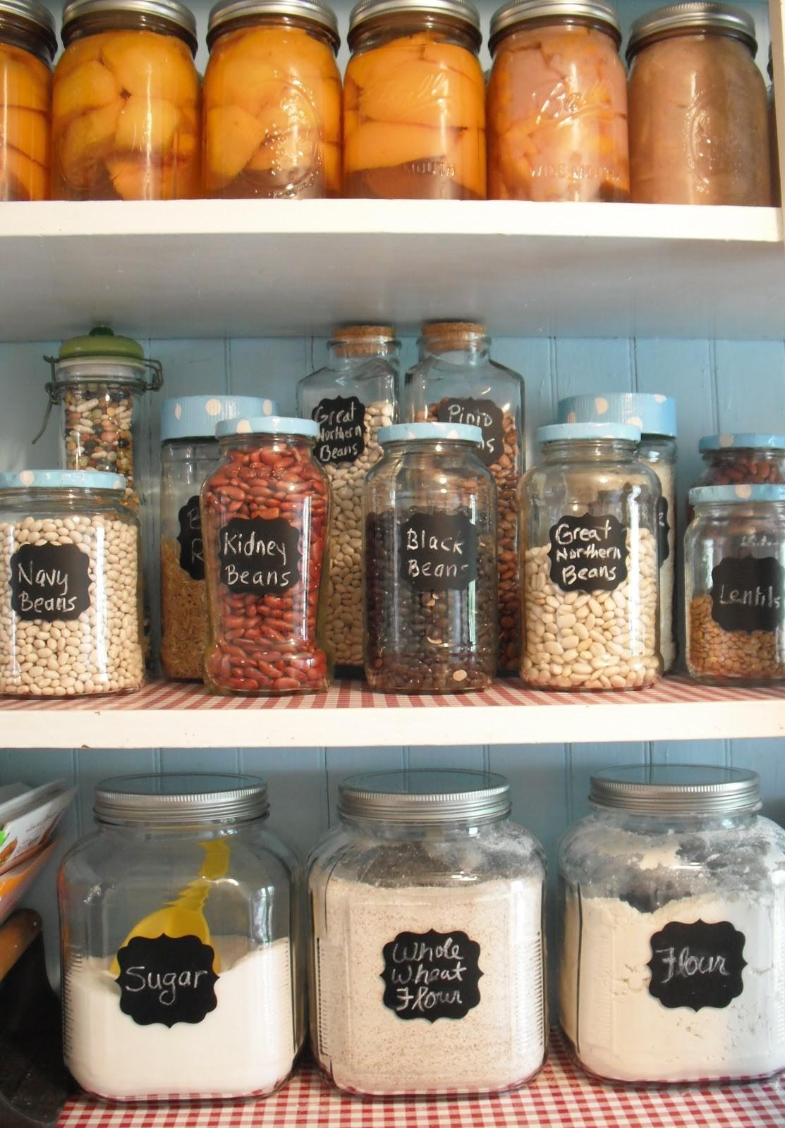 Totally Real Organized Pantry
