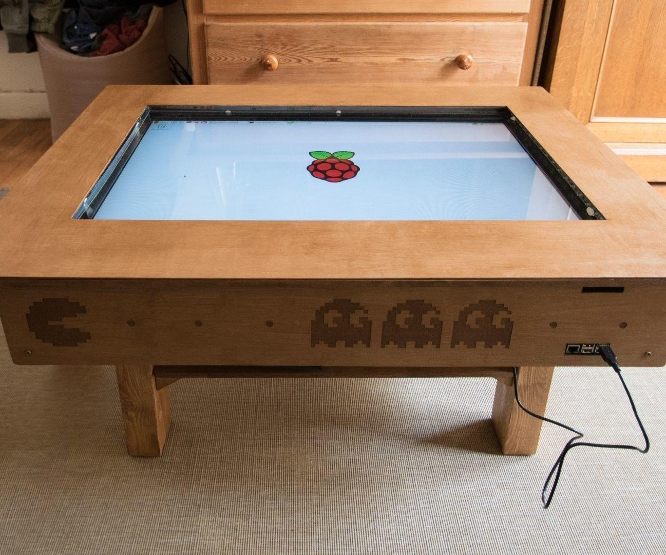 Touch Screen Coffee Table Diy Low Cost Ccd