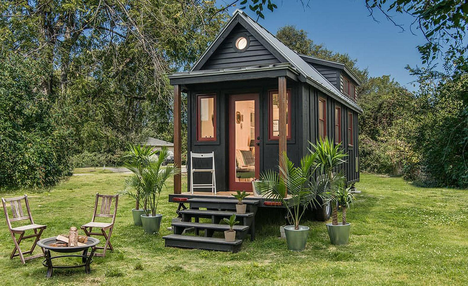 Towable Riverside Tiny House Packs Every Conventional