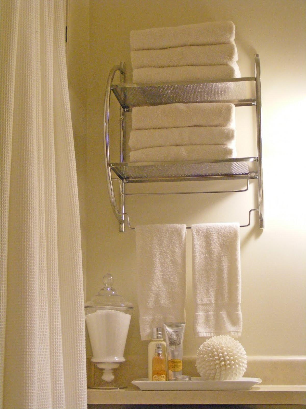 Towel Racks Bathrooms Ideas Small
