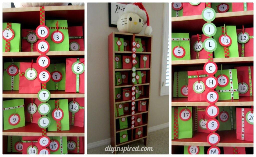 Tower Advent Calendar Diy Inspired