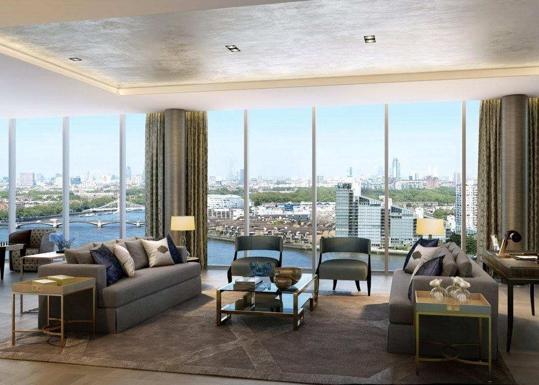 Tower Penthouse Chelsea Creek London Luxury