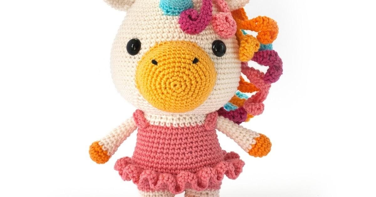 Toy Patterns Diy Fluffies Bella Unicorn Amigurumi