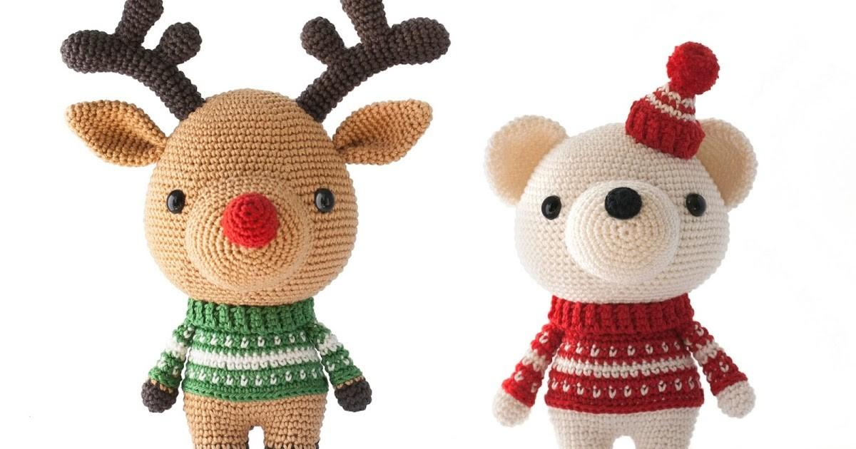 Toy Patterns Diy Fluffies Christmas Amigurumi
