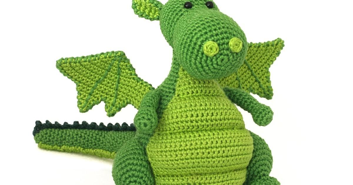 Toy Patterns Diy Fluffies Dragon Amigurumi Pattern