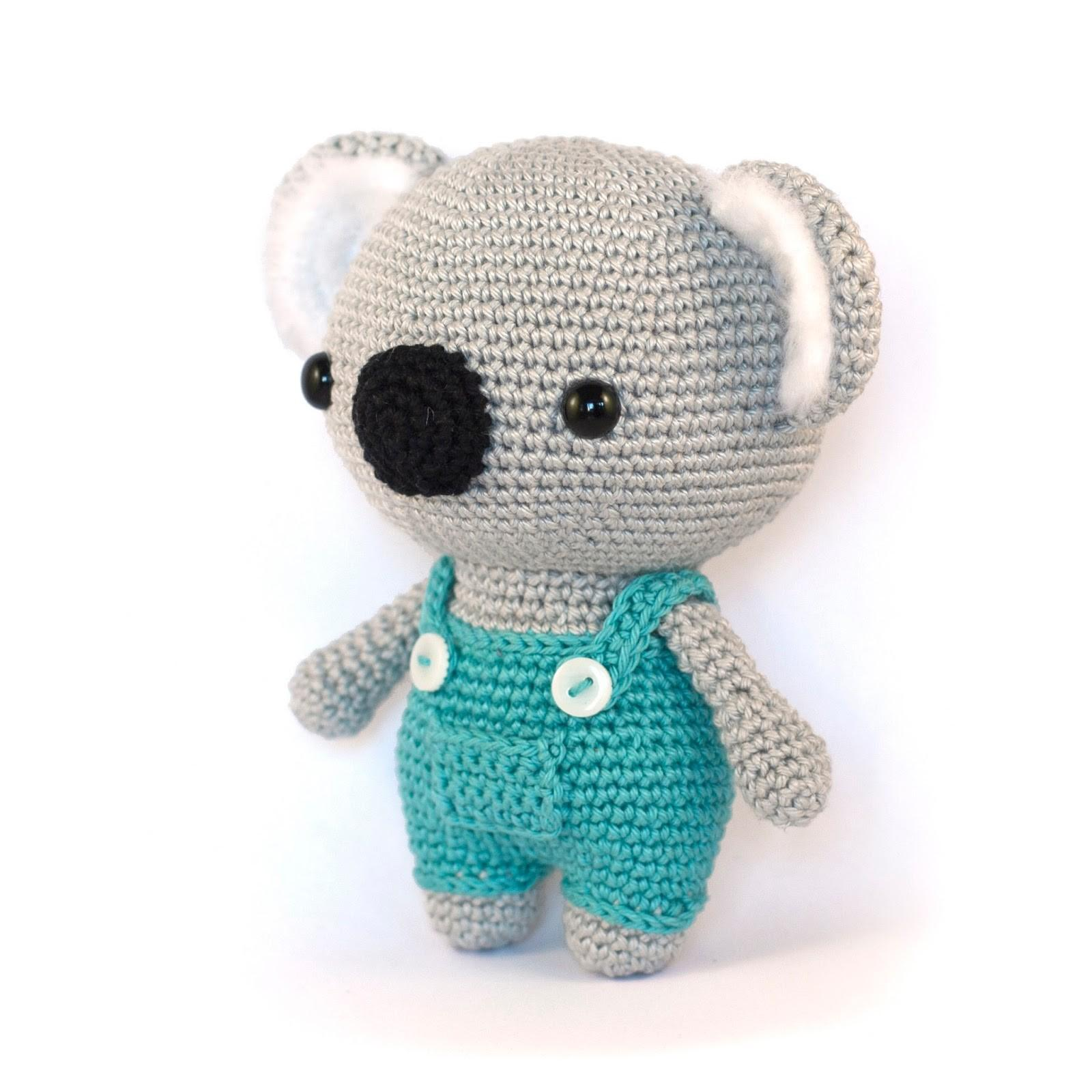 Toy Patterns Diy Fluffies Koala Amigurumi Pattern