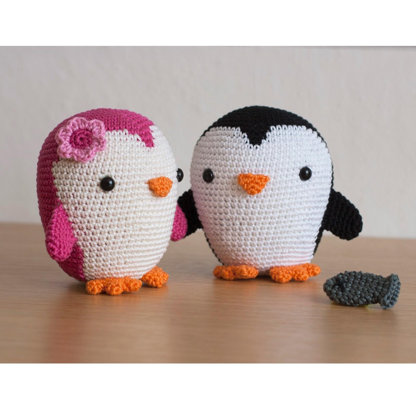 Toy Patterns Diy Fluffies Penguin Amigurumi Crochet