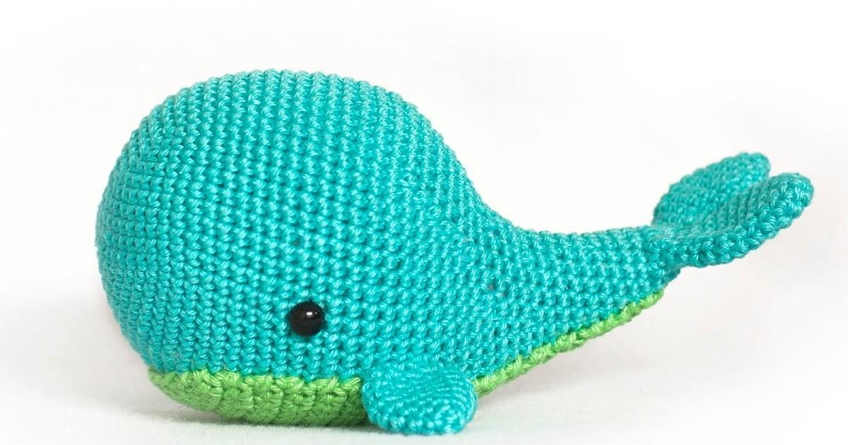 Toy Patterns Diy Fluffies Whale Amigurumi Crochet Pattern