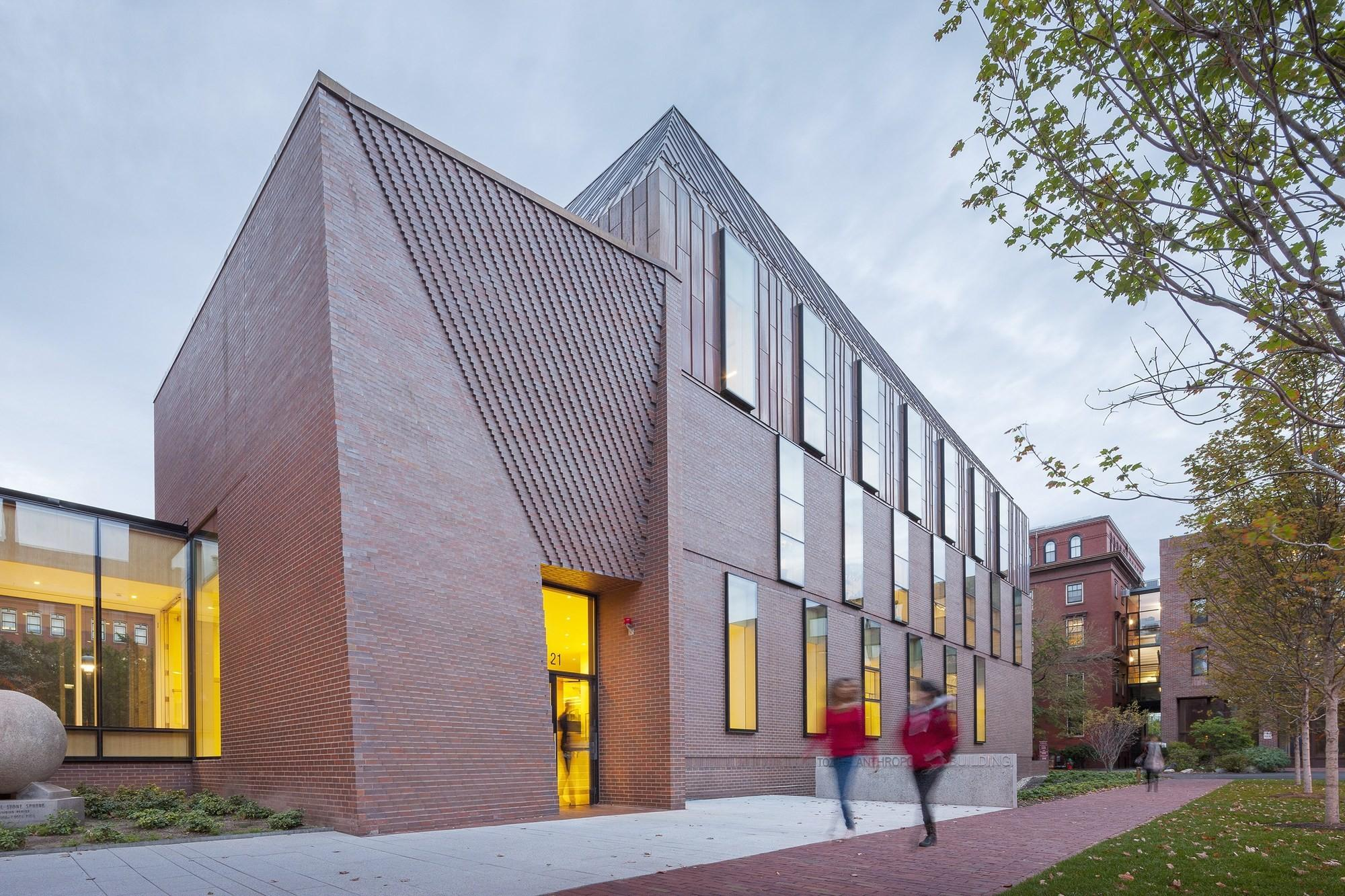 Tozzer Anthropology Building Kennedy Violich