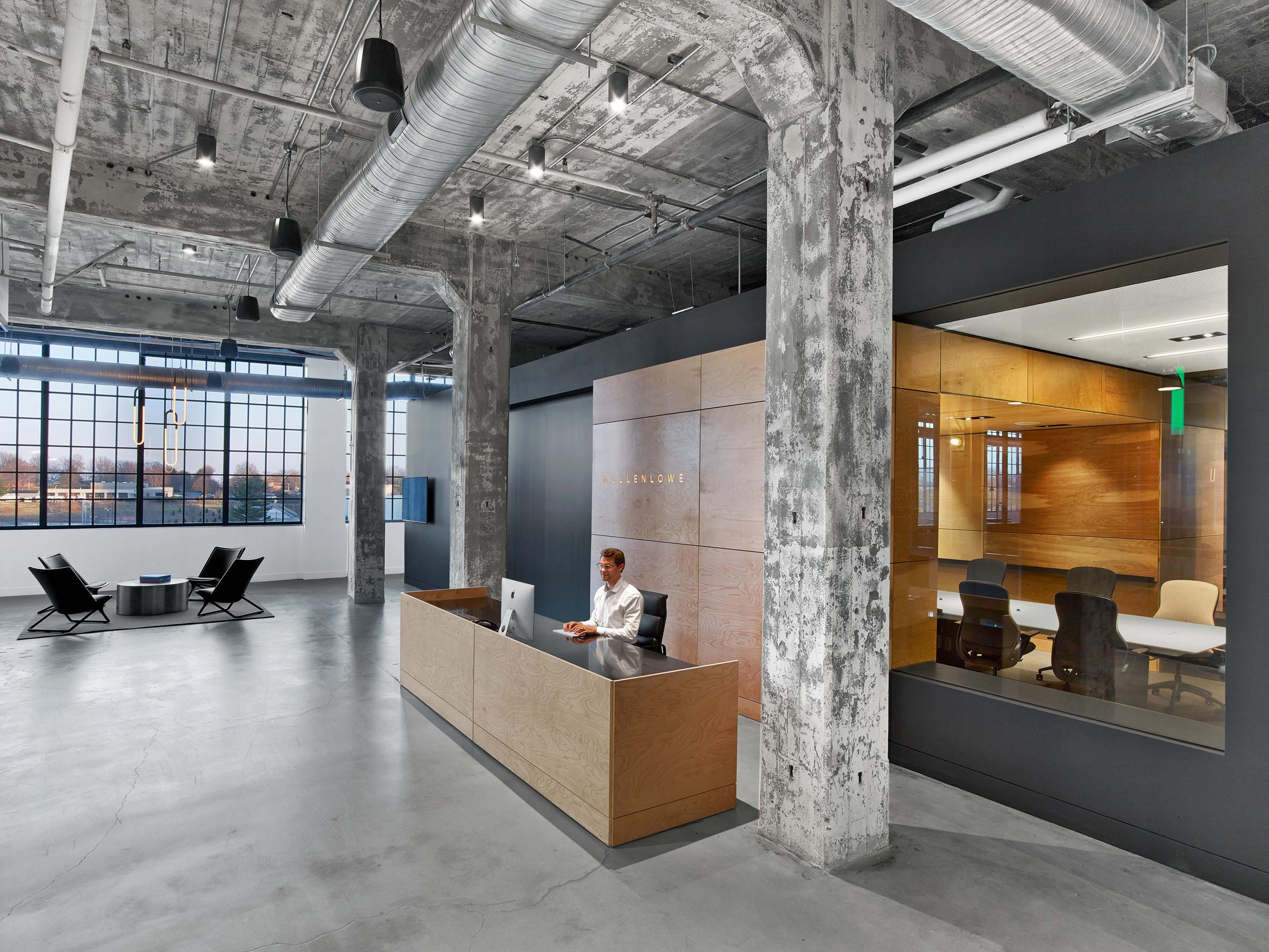 Tpg Architecture Adapts Tobacco Factory Into Agency