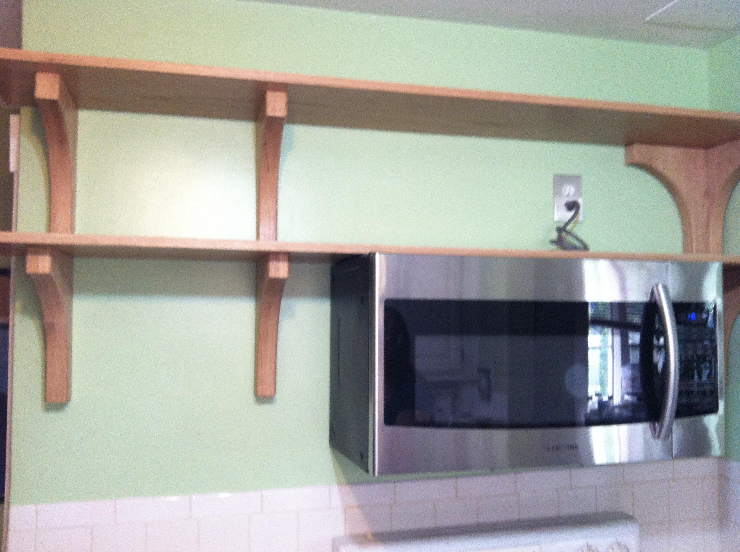 Traditional Brackets Perfect Open Shelving Projects