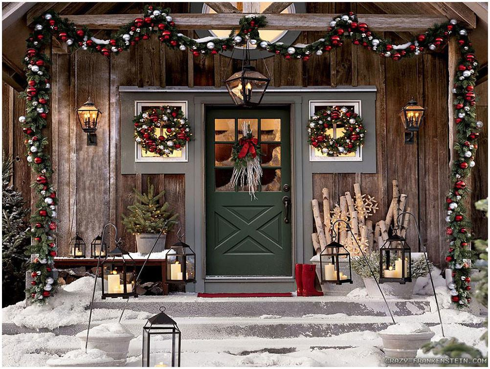 Traditional Christmas Holiday Decorations Ideas Interior