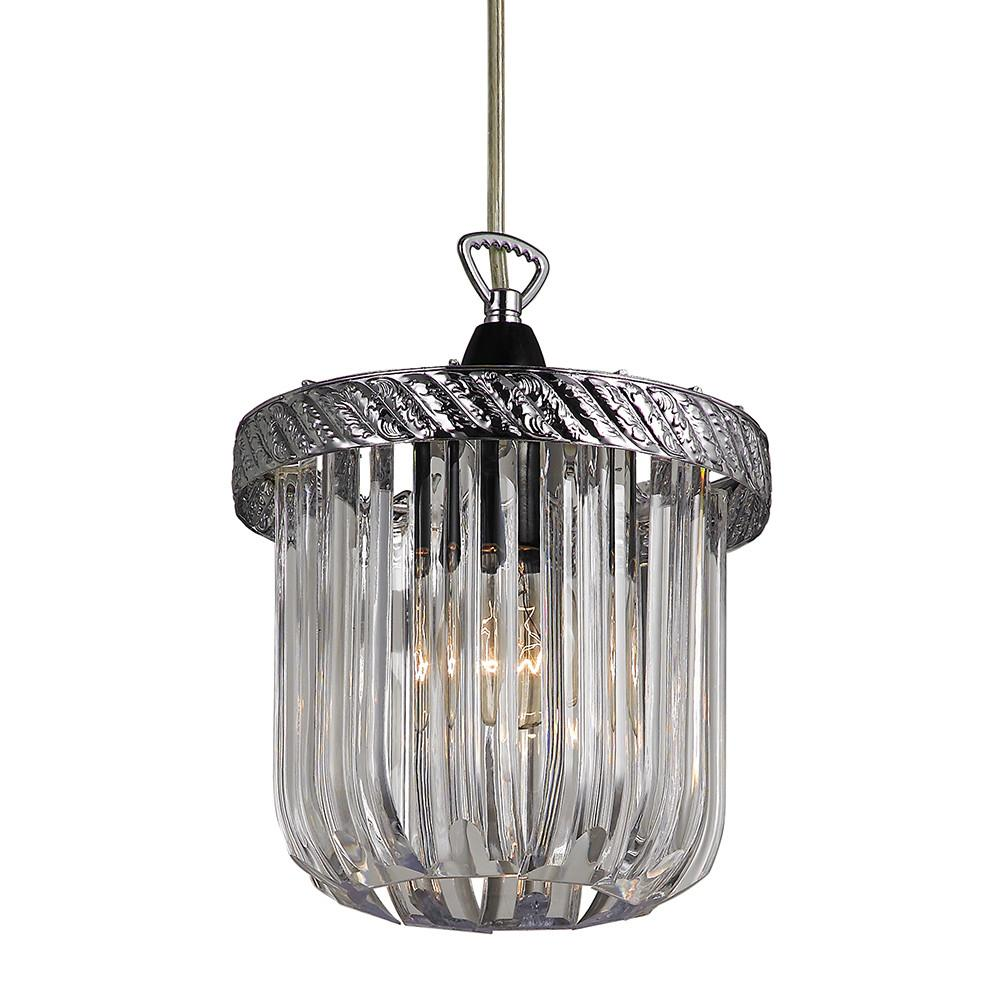 Traditional Clear Acrylic Easy Fit Pendant