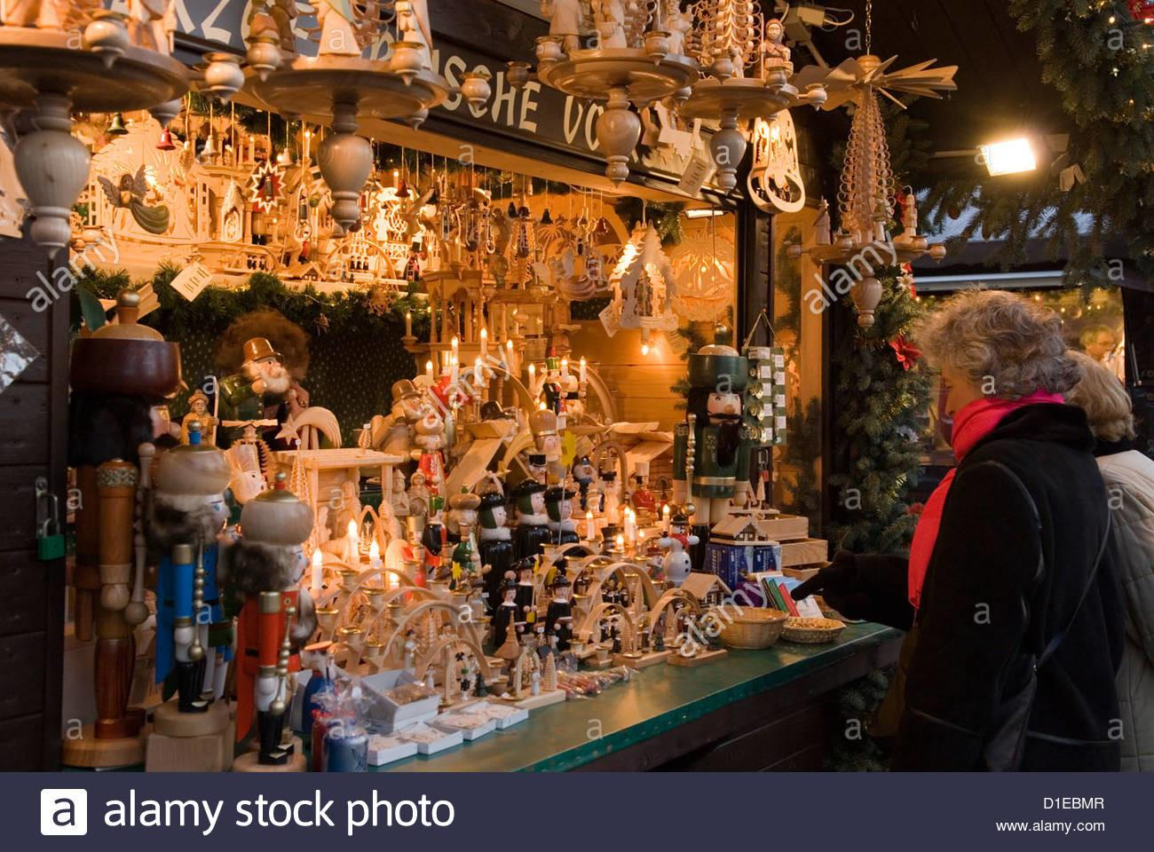 Traditional German Wooden Christmas Decorations Berlin