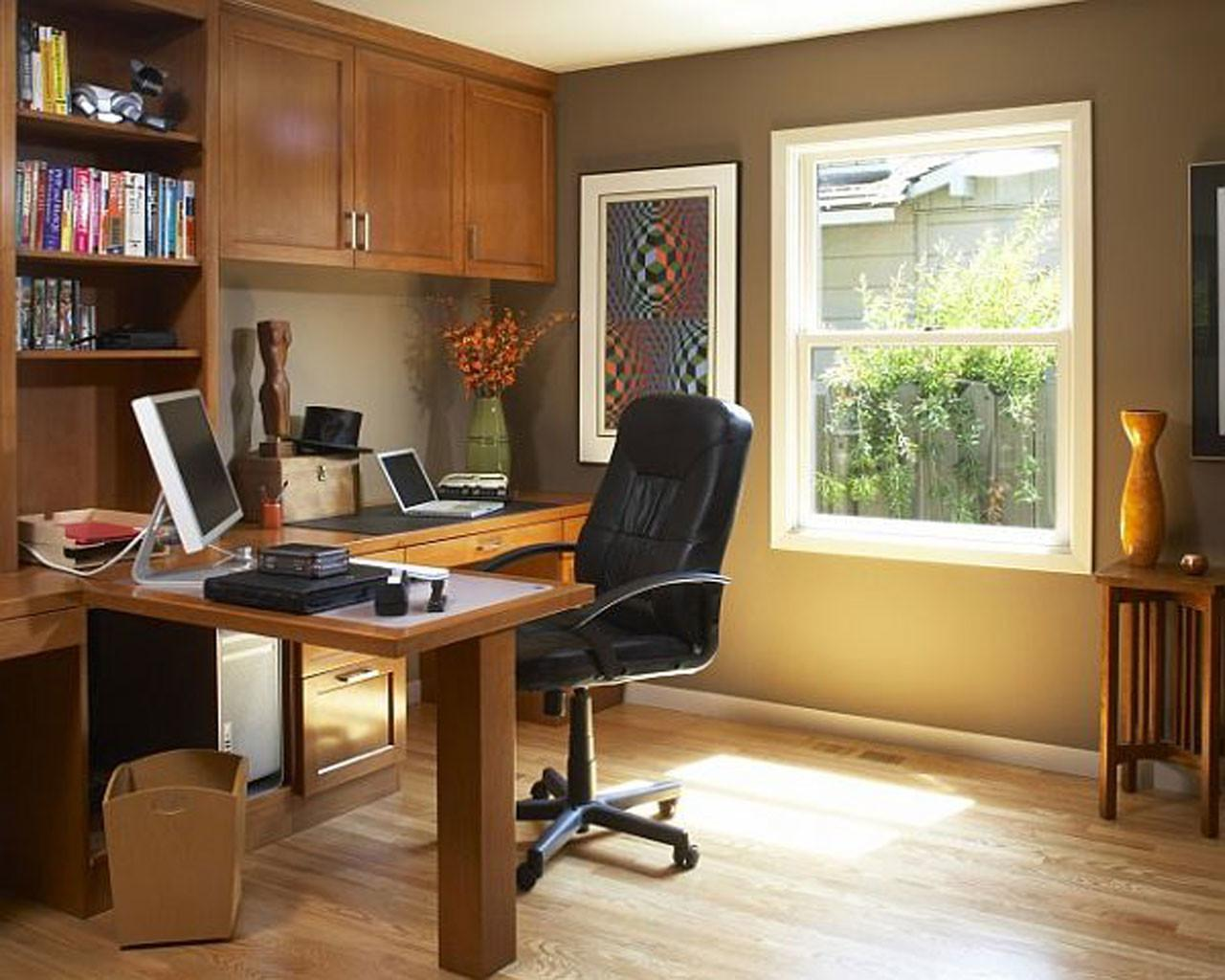 Traditional Home Office Design Ideas