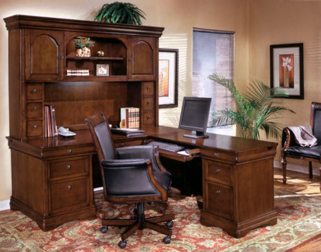 Traditional Rug High End Home Office Decorating Ideas