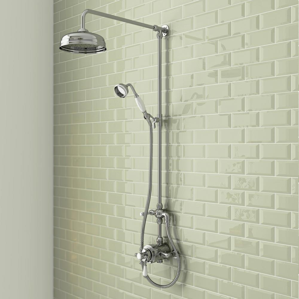 Trafalgar Traditional Dual Exposed Shower Valve
