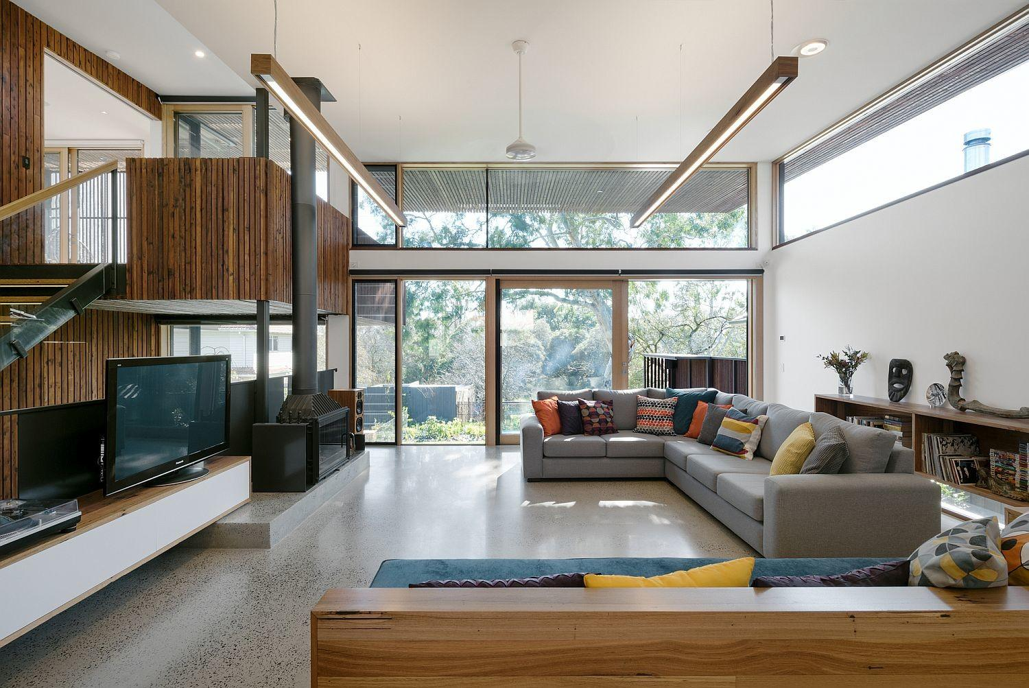 Trail House Multi Level Green Home Melbourne Suburb