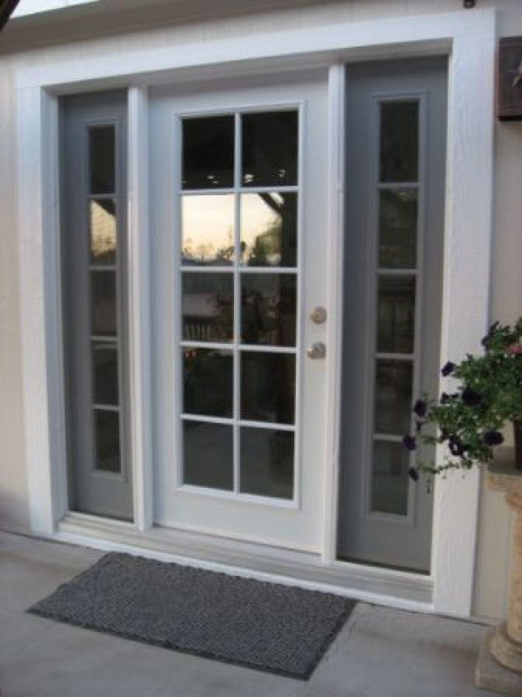 Transcendent Single French Doors Patio Windows