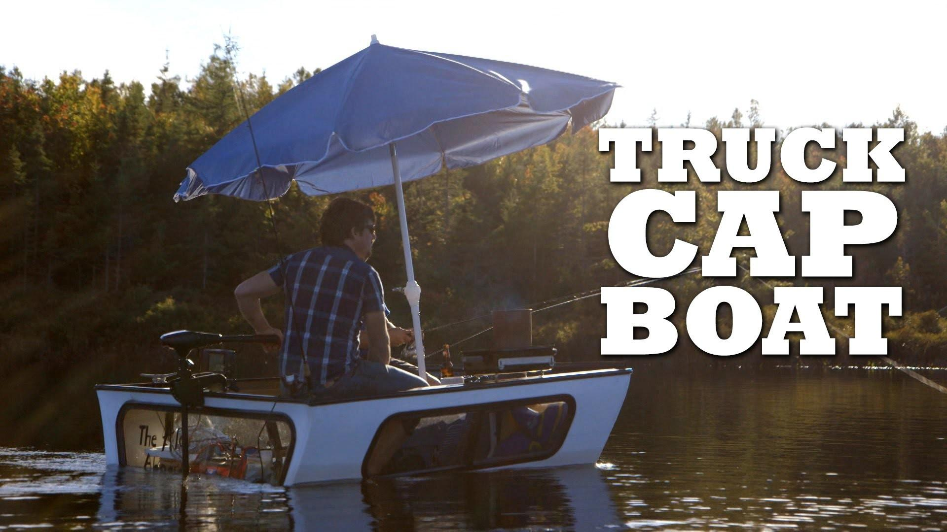 Transform Truck Cap Into Fishing Boat
