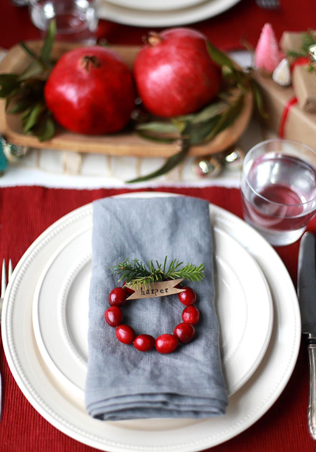 Transform Your Tablescape These Festive Settings