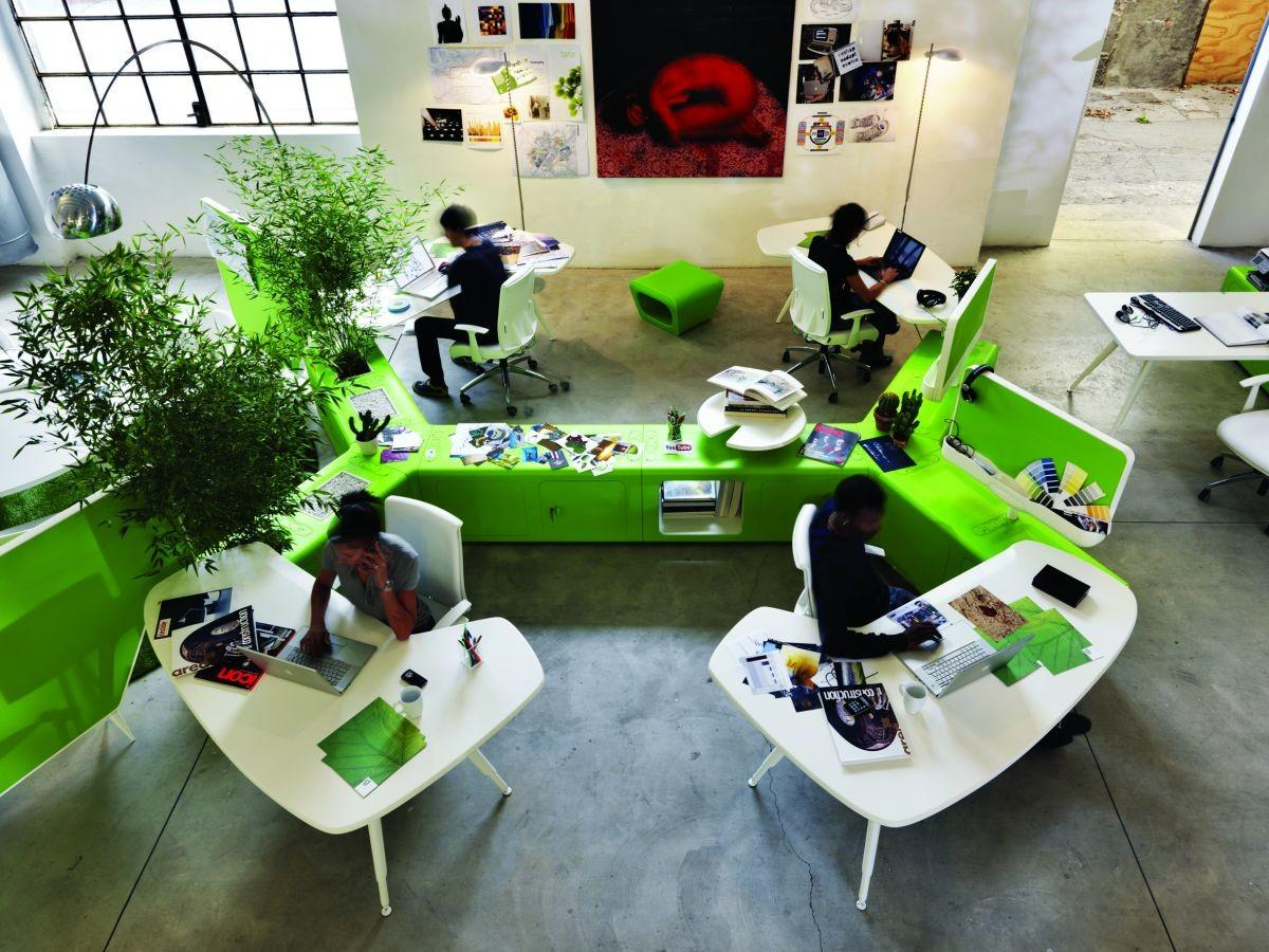 Transforming Normal Workspace Into Sustainable Office