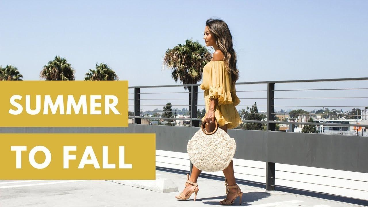 Transition Outfits Your Summer Clothes