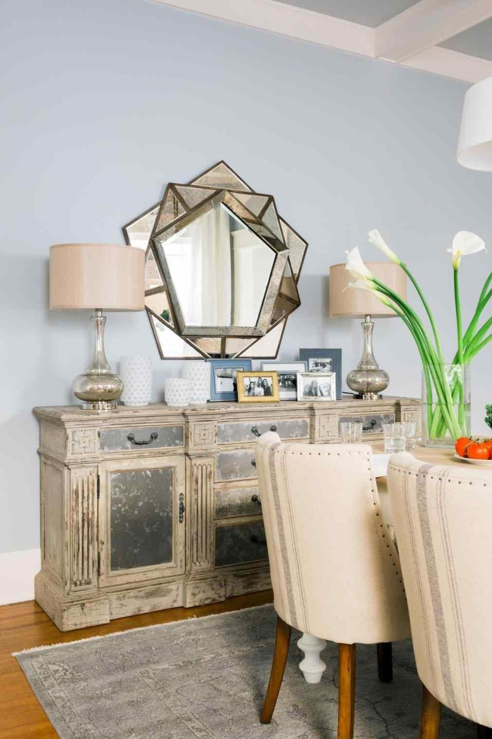Transitional Dining Room Home Ation Neutral Fall Tour