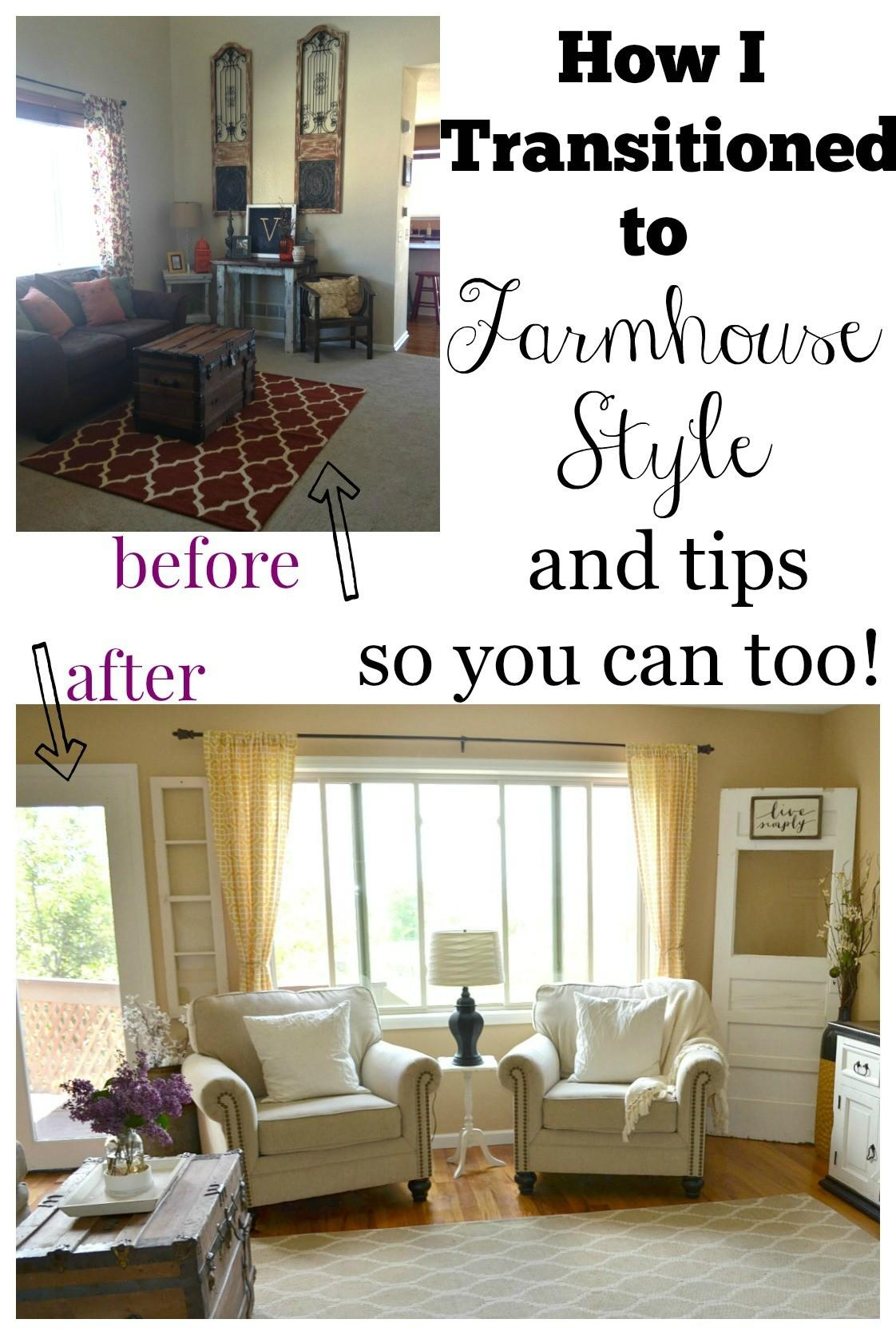 Transitioned Farmhouse Style Little Vintage Nest