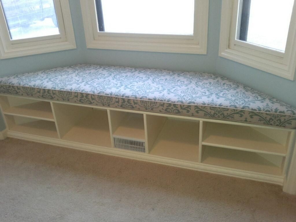 Trapezoid Cushion Custom Bay Window Seat