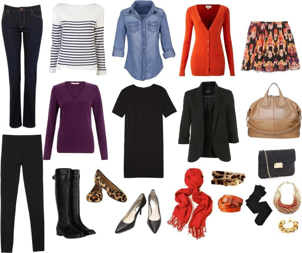 Travel Capsule Wardrobe Women Over New Style