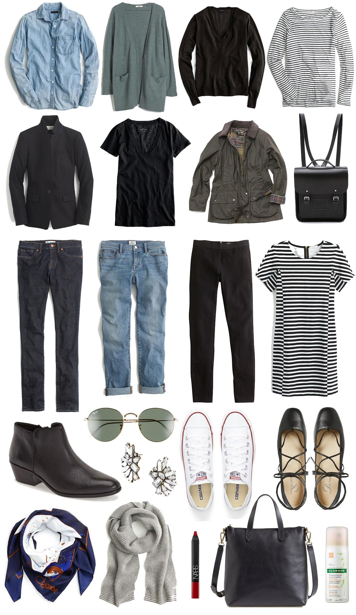 Travel Capsule Wardrobe Your Ultimate Packing List