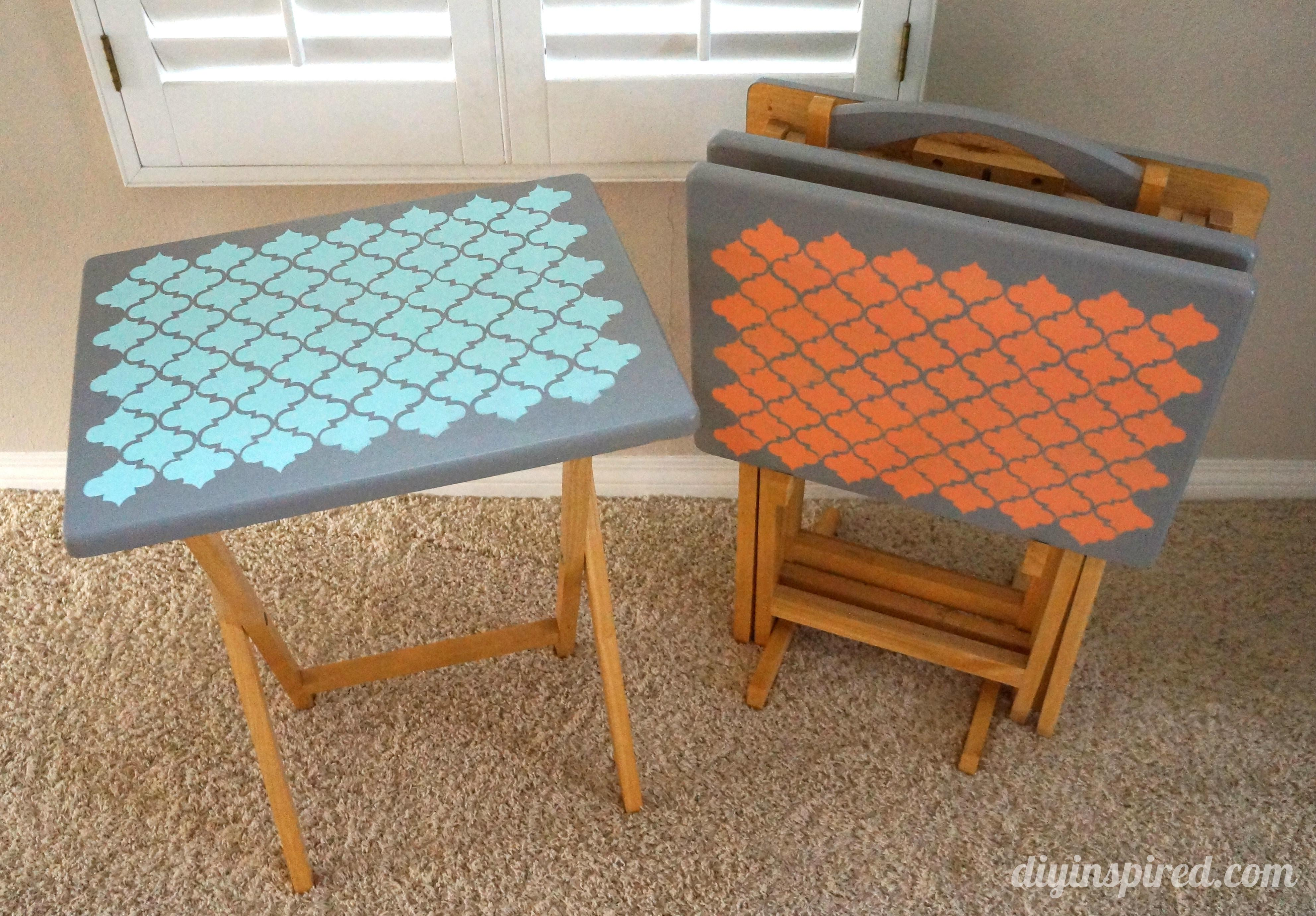 Tray Table Upcycle Diy Inspired