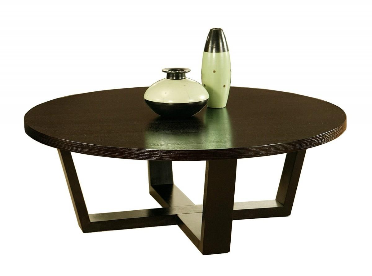 Treat Round Modern Coffee Tables Made Marble