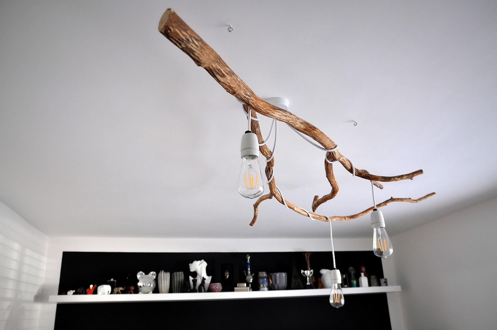 Tree Branch Chandelier Mamaisdreaming Blogspot