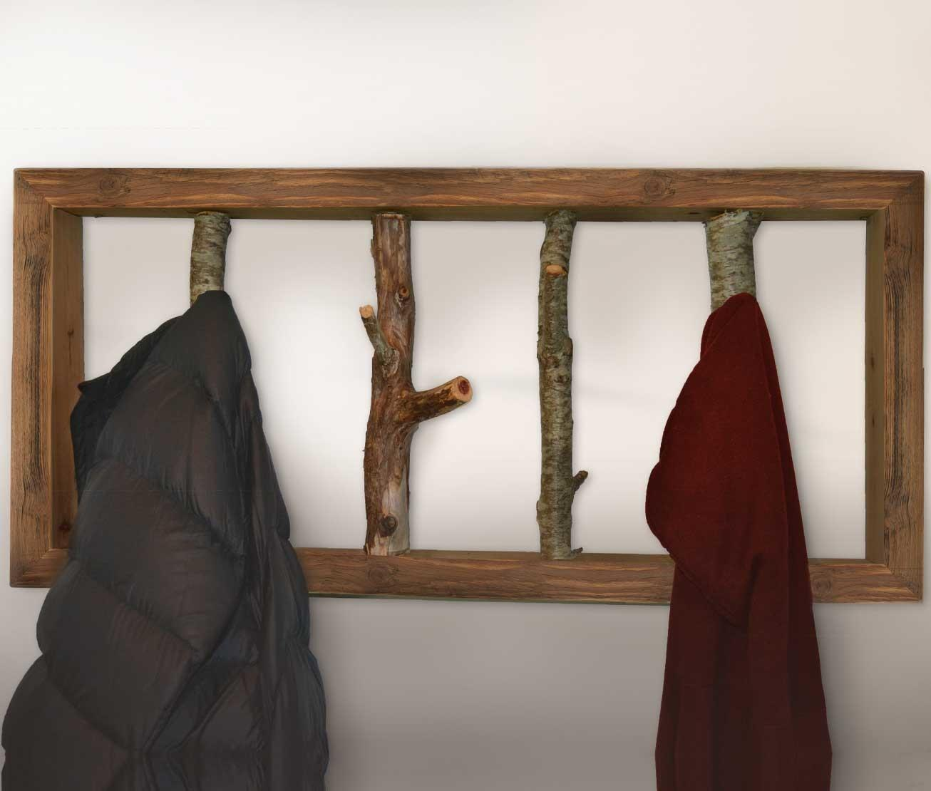 Tree Branch Coat Rack Make Diy Hanger
