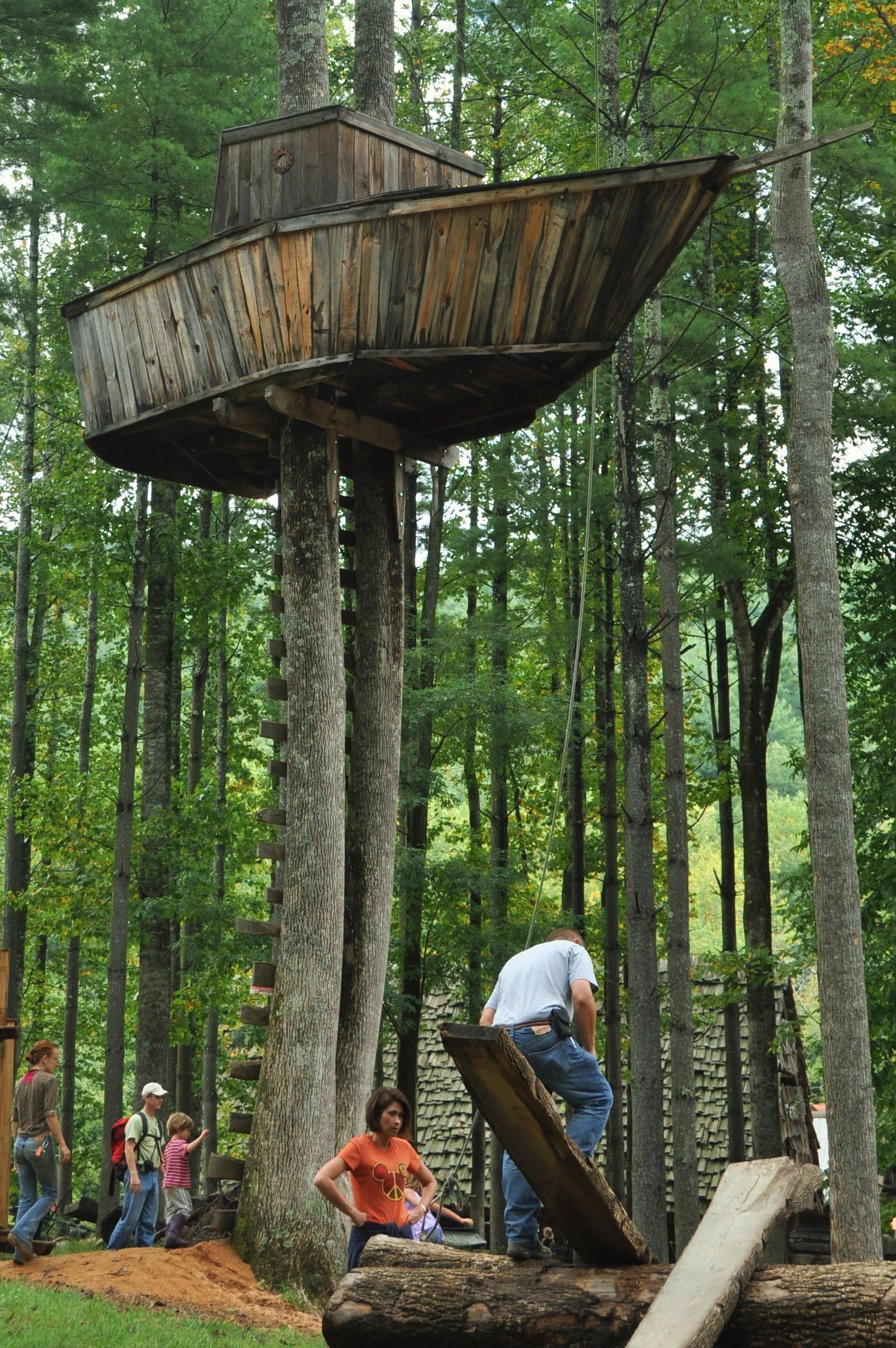 Tree Fort Forts Play Structures Houses