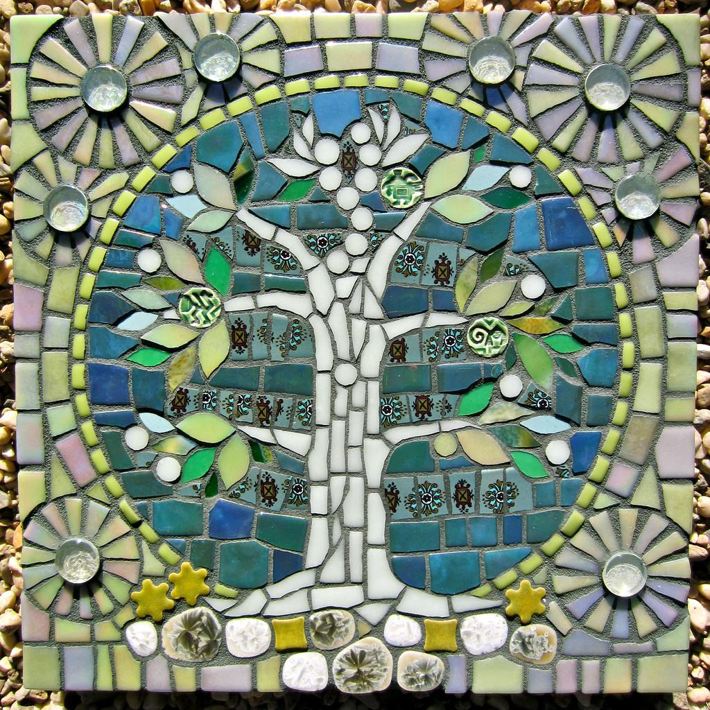 Tree Life Mosaic Artwork Sarah Campbell