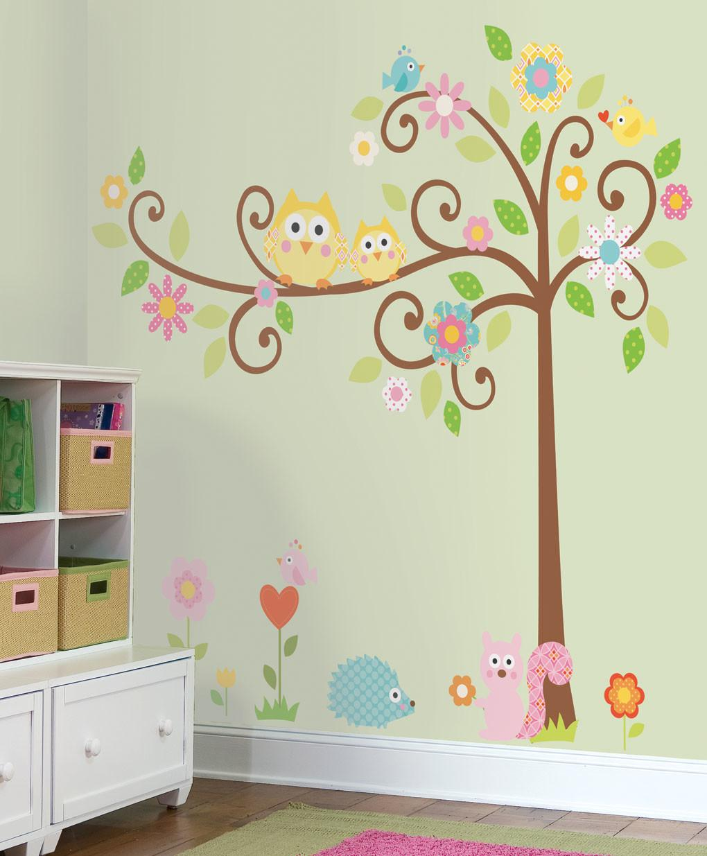 Tree Wall Stickers 2017 Grasscloth