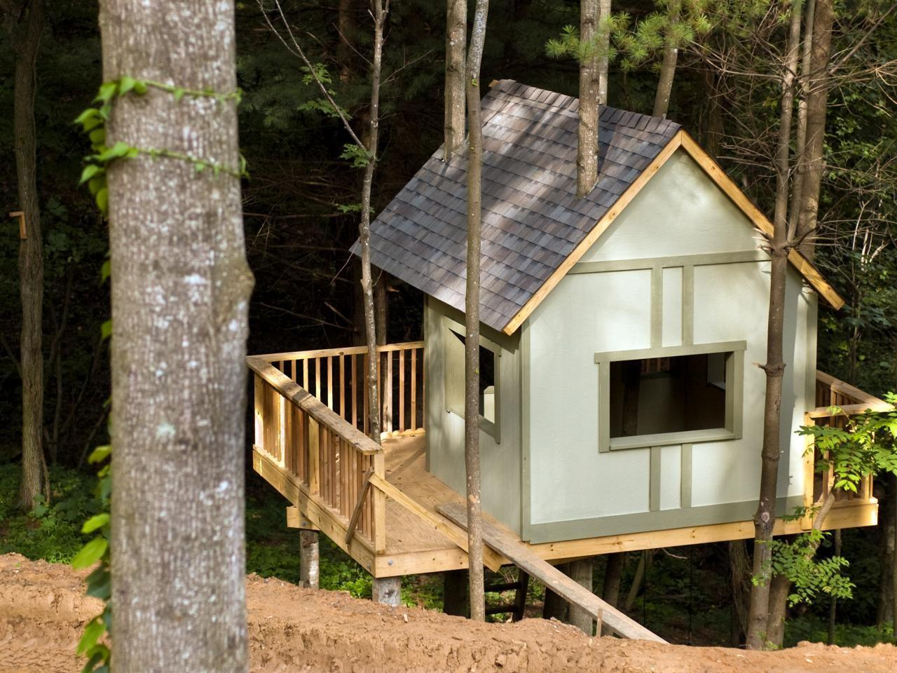 Treehouse Blog Cabin 2009 Diy Network