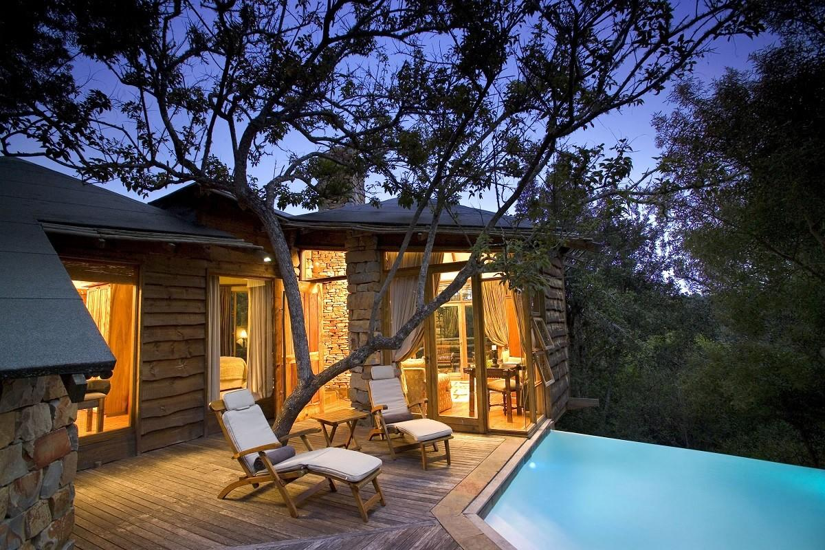 Treehouse Hotel South Africa Lion Sands Game Reserve