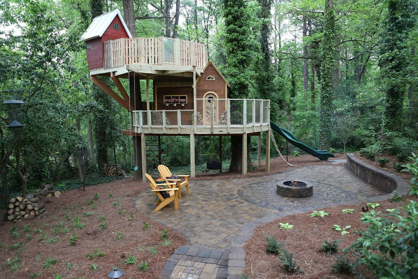 Treehouse Living Adults Design Your House Its