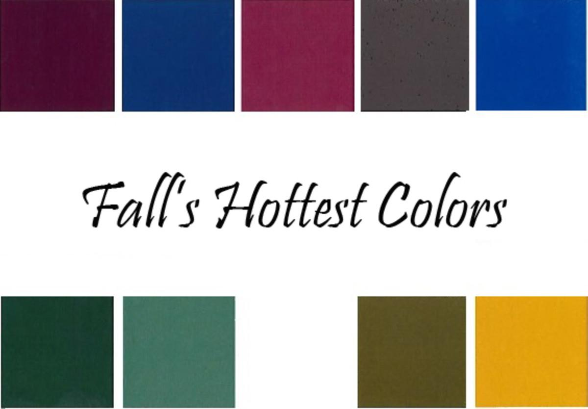 Trend Alert Fall Color Palette Glamamom